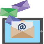 Tablet email